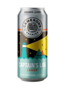 CaptainsLogLager_Cameronsbrewing
