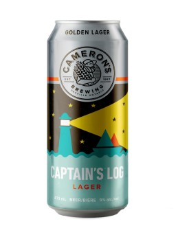 CaptainsLogLager_Cameronsbrewing